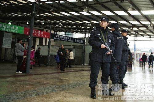 长沙公路铁路机场安保因昆明暴力恐怖事件升级