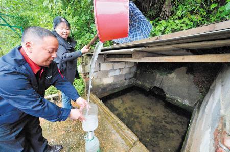 长沙东沙井堪比白沙井 1日数百人取水从未枯竭