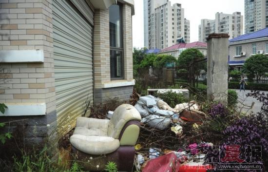 浏阳别墅买下8栋业主闲置8别墅垃圾场(图)_年成园景图片