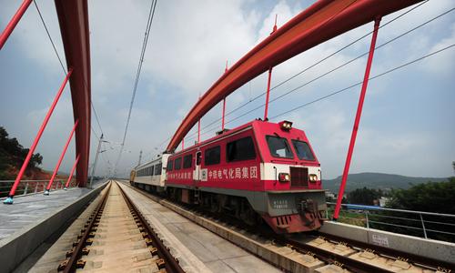 沪昆高铁湖南段建成 湖南10市县将首通高铁(图