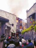 洪江古商城失火百年民居被烧毁