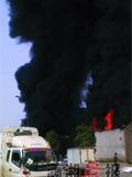 泡沫厂因电起火