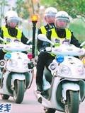 宁乡女子交警队平均年龄22岁