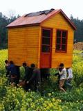 创意花园猪木屋