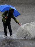 长沙多处积水民居被淹