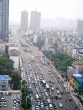 湘江隧道首个工作日车流量大