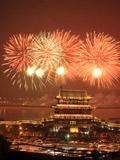 春节3场音乐焰火绽放星城