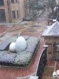 长沙迎来2012年纯雪