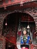 湖南老人收藏明清时代古苗床