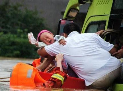 澡盆营救婴儿