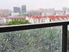 钢化玻璃留弹孔