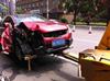 长沙小车撞伤老人