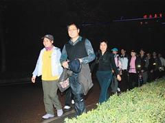 株洲暴走族一夜走65公里