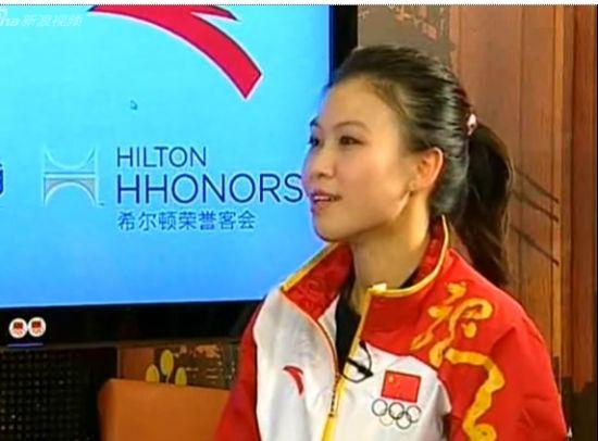 视频-专访易思玲:美丽的中国首金女孩