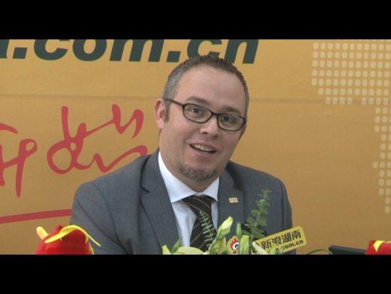 视频:新浪湖南专访长沙万达文华酒店总经理